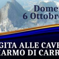 Gita culturale per auto e moto storiche alle cave di marmo di Carrara